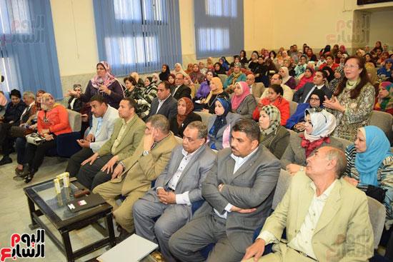 جانب من الحضور باحتفالية المجلس القومى للمرأة