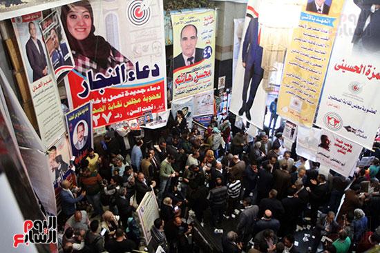انتخابات التجديد النصفى للصحفيين (10)