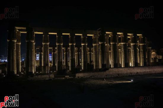 معبد-الاقصر-ليلا