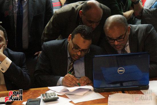 احتفالات فى نقابة الصحفيين بأعضاء المجلس الجدد (10)