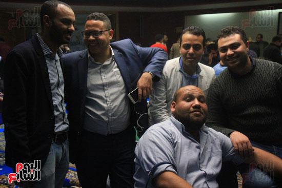 احتفالات فى نقابة الصحفيين بأعضاء المجلس الجدد (11)