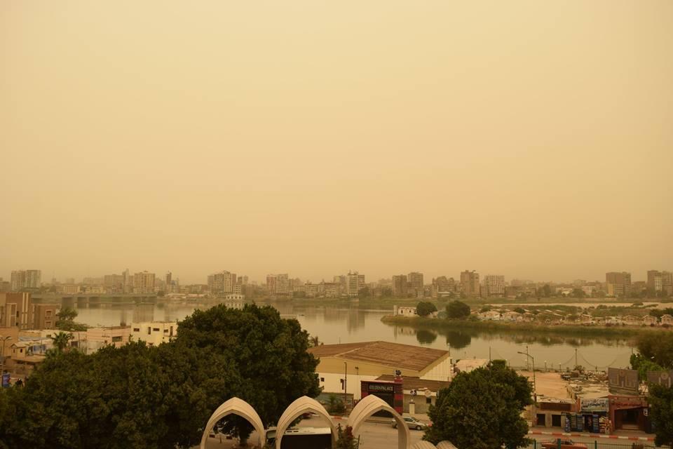 الطقس السيء يضرب محافظة سوهاج