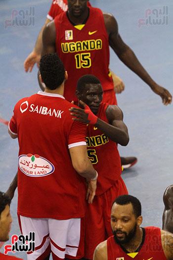 منتخب السلة يسحق أوغندا ويحقق المركز الأول بالتصفيات المؤهلة لبطولة أفريقيا (19)