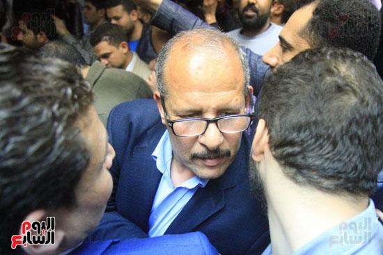احتفالات فى نقابة الصحفيين بأعضاء المجلس الجدد (7)