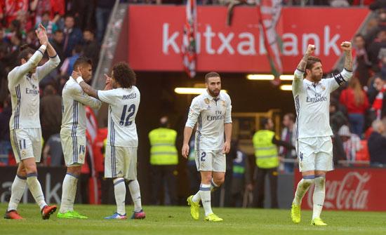 ريال مدريد يحبط انتفاضة بلباو ويوسع فارق صدارة الدوري الإسبانى