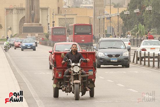 حركة السيارات فى القاهرة