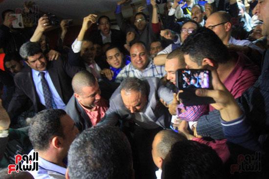 صاحبة الجلالة تختار عبد المحسن سلامة نقيبًا للصحفيين (3)