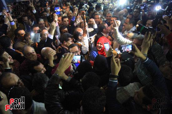 صاحبة الجلالة تختار عبد المحسن سلامة نقيبًا للصحفيين (21)