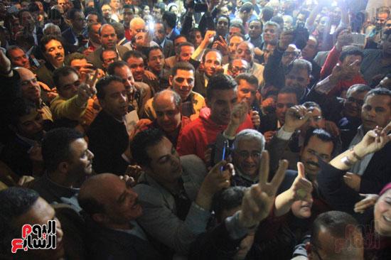 صاحبة الجلالة تختار عبد المحسن سلامة نقيبًا للصحفيين (33)