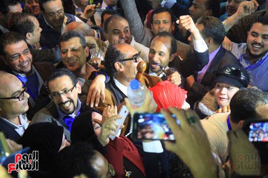 صاحبة الجلالة تختار عبد المحسن سلامة نقيبًا للصحفيين (9)
