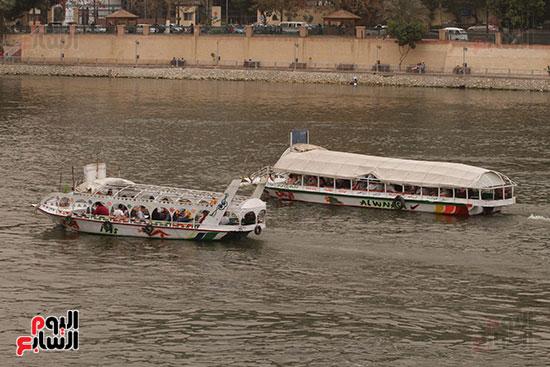 المراكب فى نهر النيل