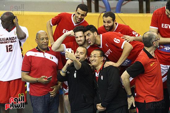 منتخب السلة يسحق أوغندا ويحقق المركز الأول بالتصفيات المؤهلة لبطولة أفريقيا (17)