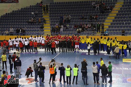منتخب السلة يسحق أوغندا ويحقق المركز الأول بالتصفيات المؤهلة لبطولة أفريقيا (14)