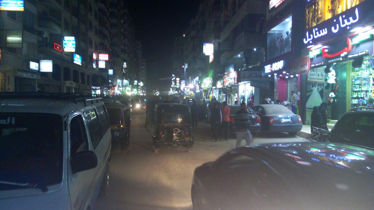 شارع جمال عبد الناصر الآن