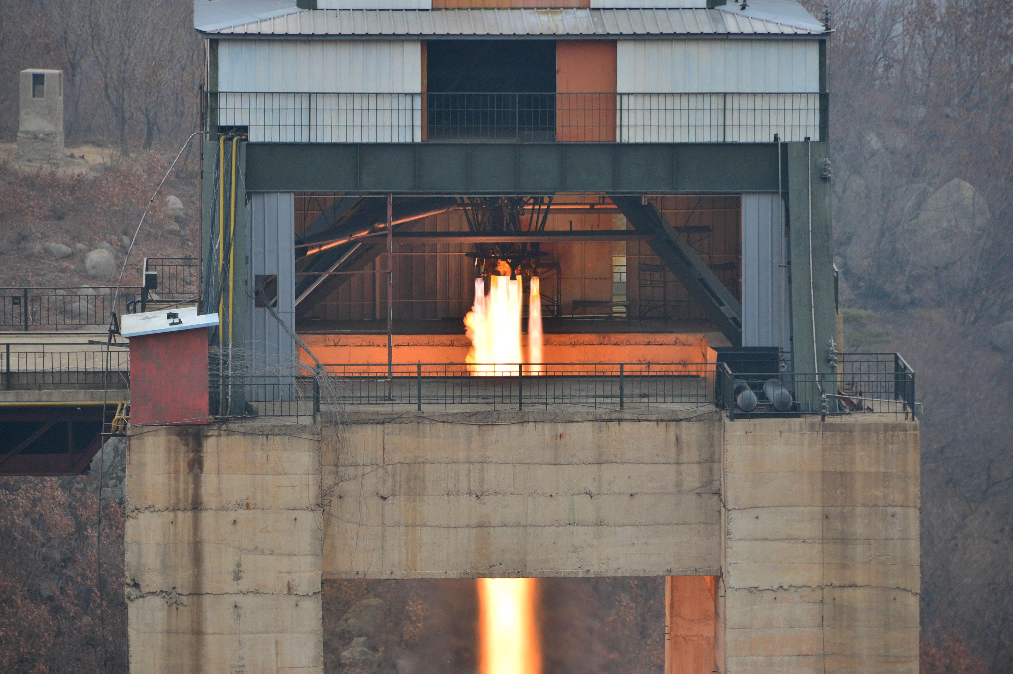 محرك الصاروخ