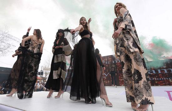 عرض أزياء للملابس الداخلية في لبنان