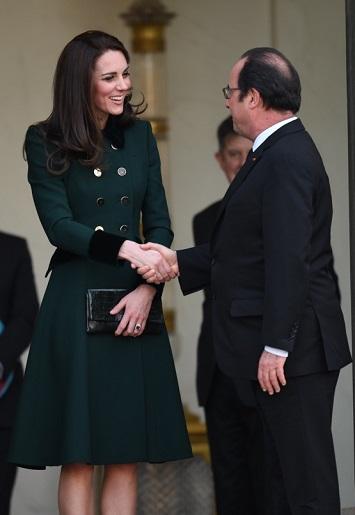 مع الرئيس الفرنسي فرنسوا هولاند