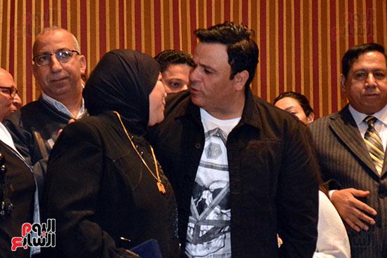 محمد فؤاد فى احتفاليه ام الشهيد (13)