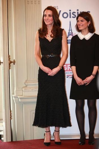 كيت فى حفل السفارة البريطانية