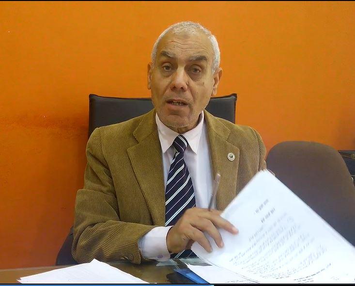 عبدالله قنديل رئيس غرفة شمال سيناء التجارية