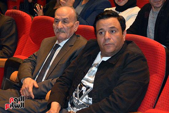 محمد فؤاد فى احتفاليه ام الشهيد (1)