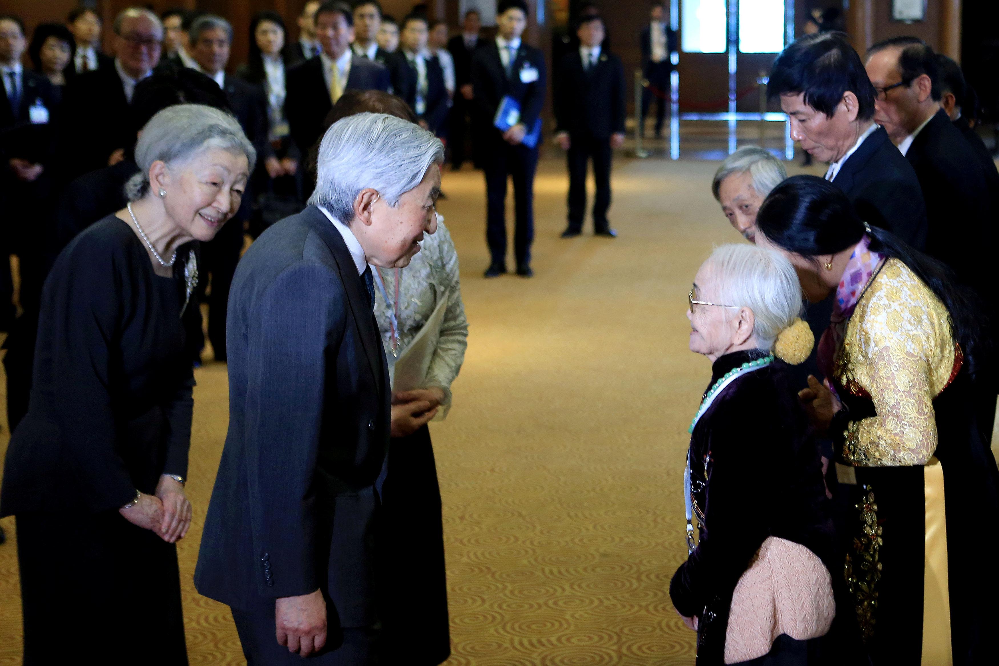 فعاليات زيارة أمبرطور فيتنام إلى اليابان