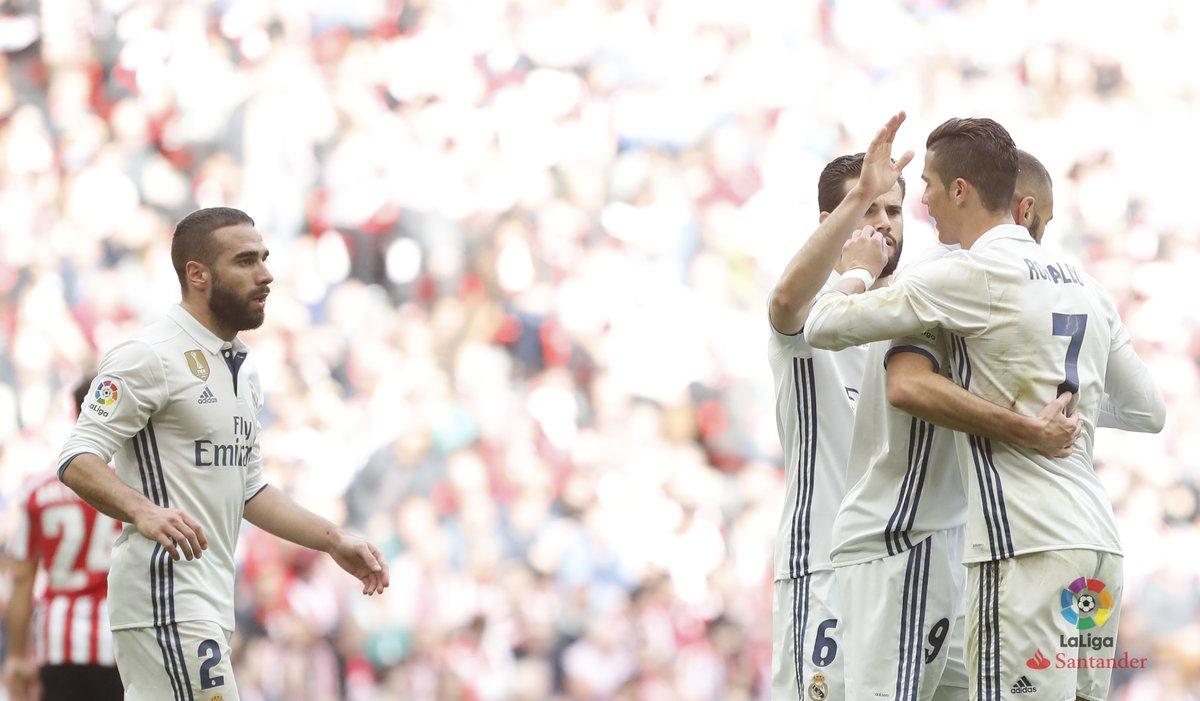 ريال مدريد يقهر بلباو فى ملعبه