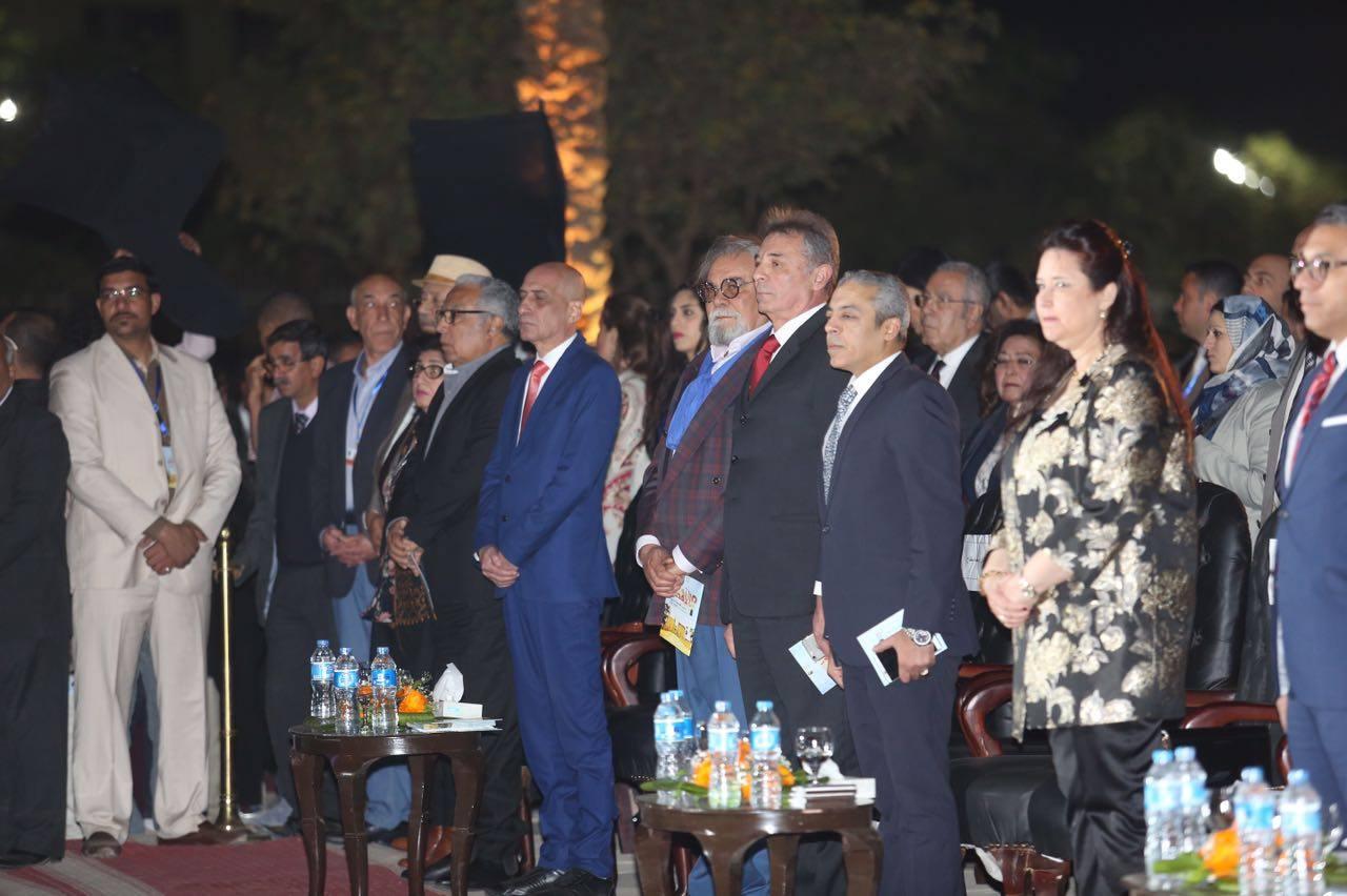محمود حميدة فى احتفالية الاقصر (1)