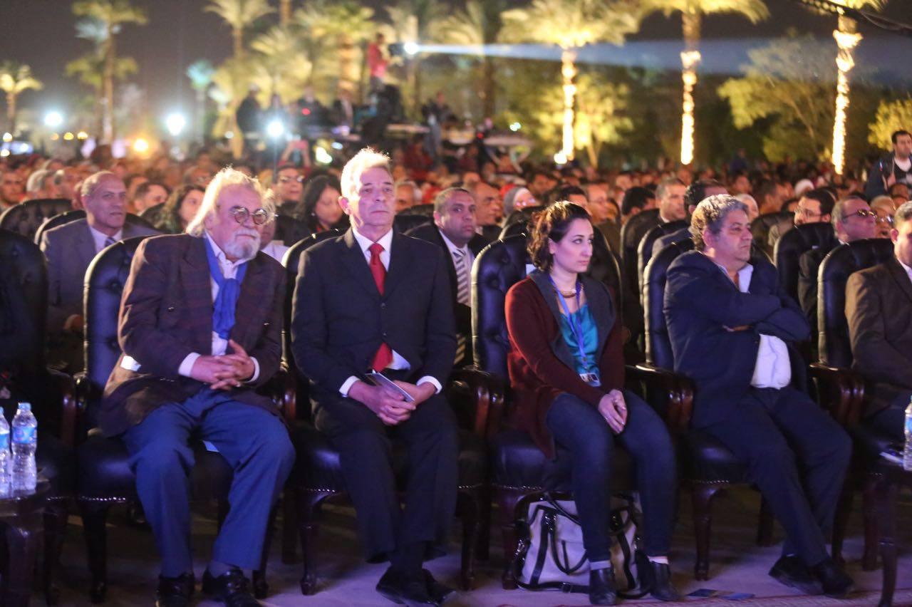 محمود حميدة فى احتفالية الاقصر (3)