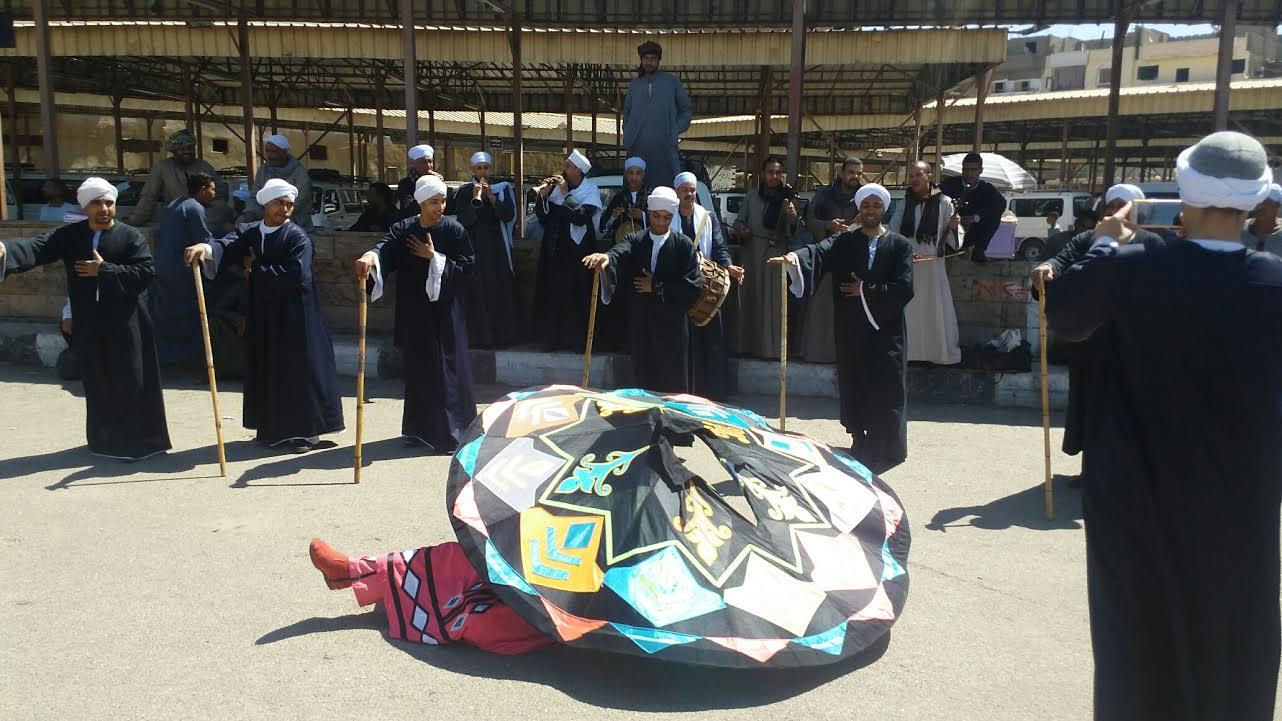 الاحتفالات الشعبية بمحافظة الأقصر
