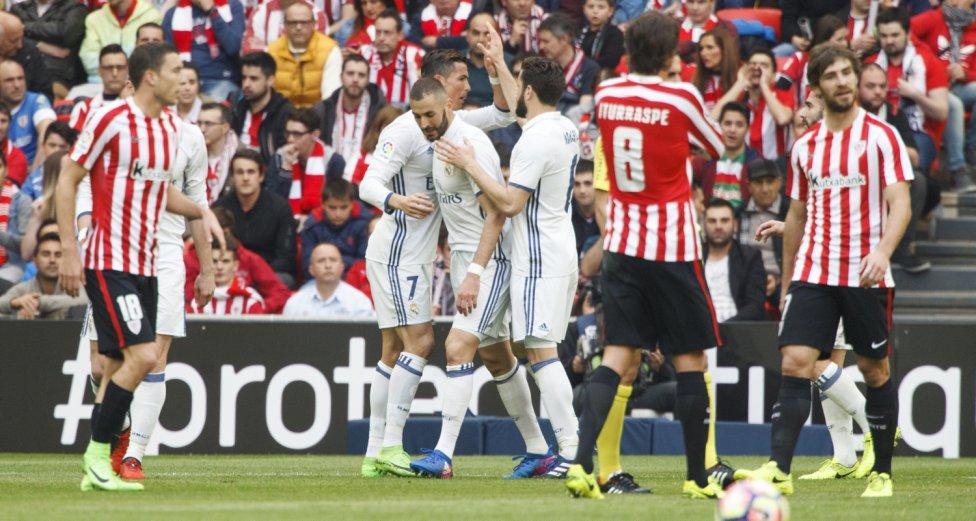 ريال مدريد يغرد منفردا فى صدارة الليجا