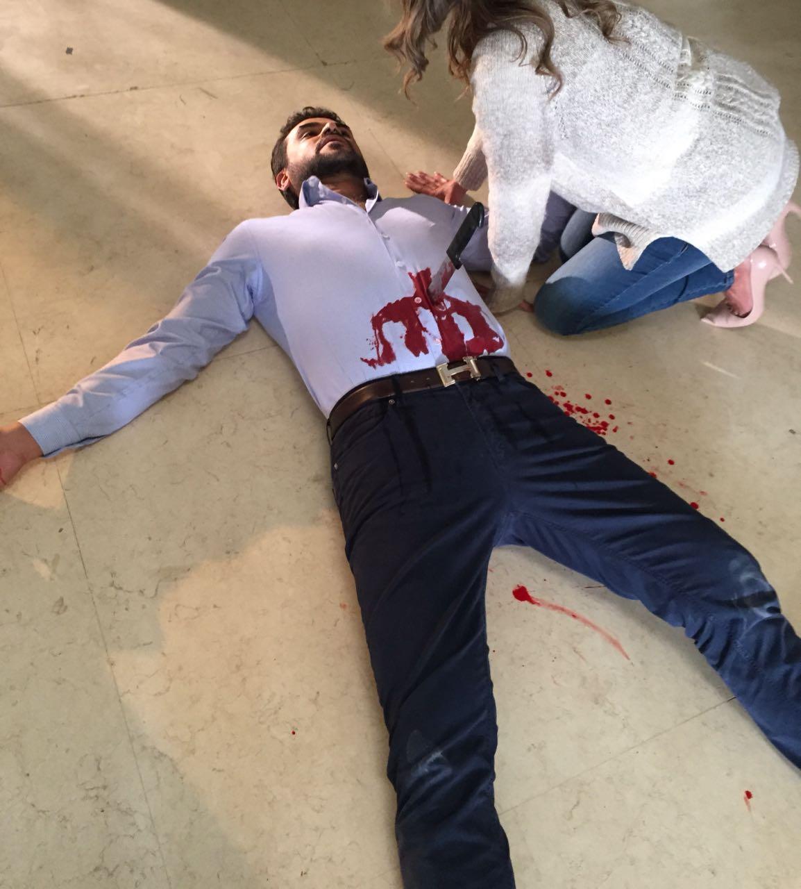 """مقتل سامو زين فى احدى مشاهد """"طعم الدنيا"""""""