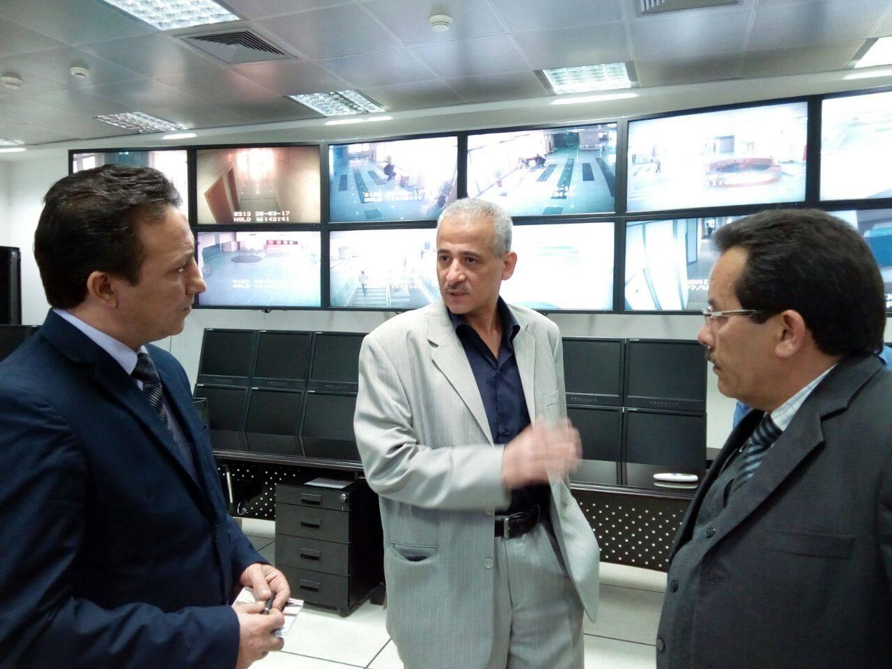 رئيس مصلحة الآثار الليبية  بالمتحف القومى