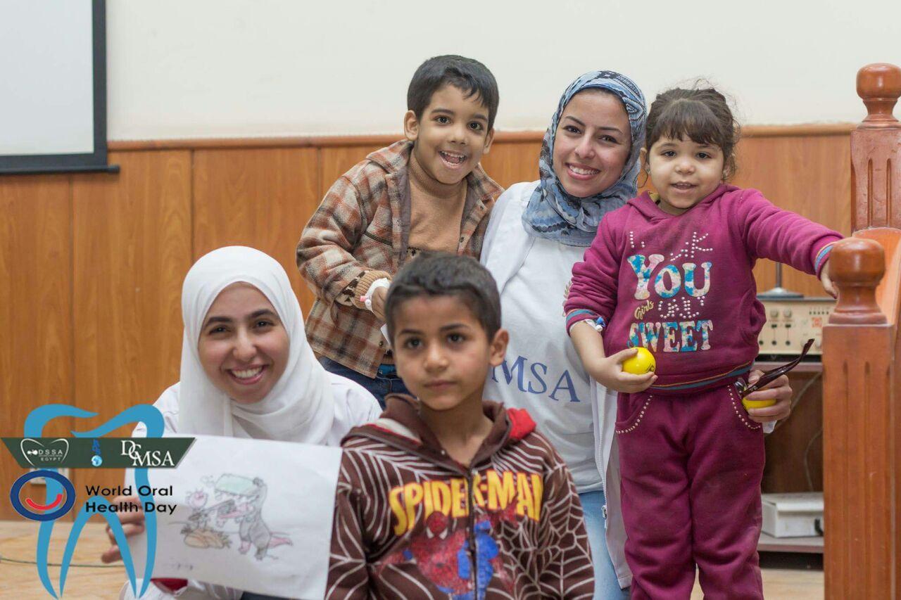 الأطفال المرضى والطلبة