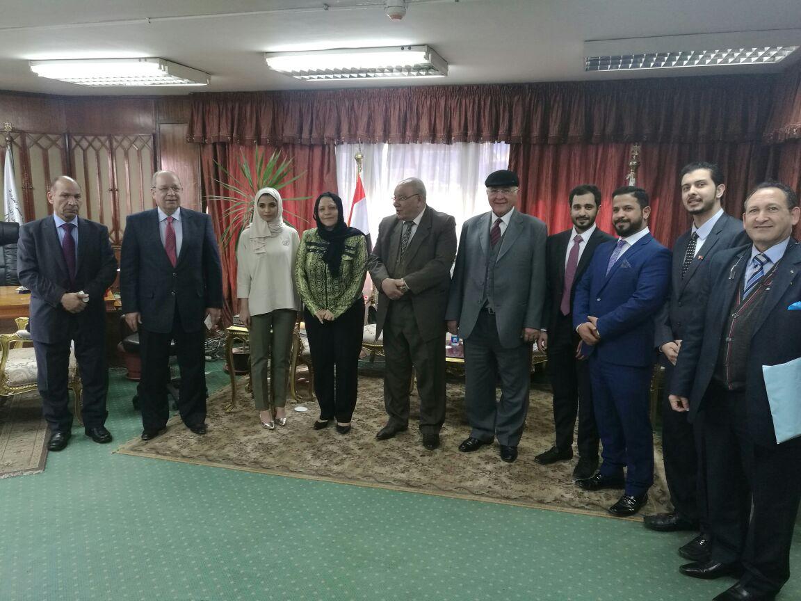.. أول تفعيل لبرتوكول التعاون بين مجلس الدولة المصري ومملكة البحرين (2)