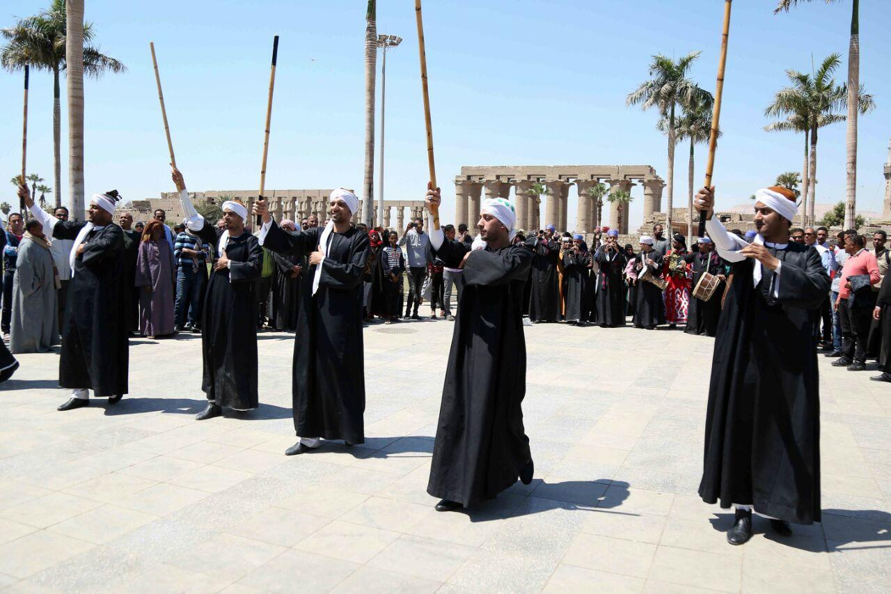 كارنفالات فنية بالأقصر احتفالا بوصول شعلة الثقافة العربية (5)