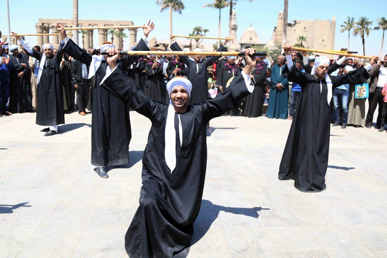كارنفالات فنية بالأقصر احتفالا بوصول شعلة الثقافة العربية (6)