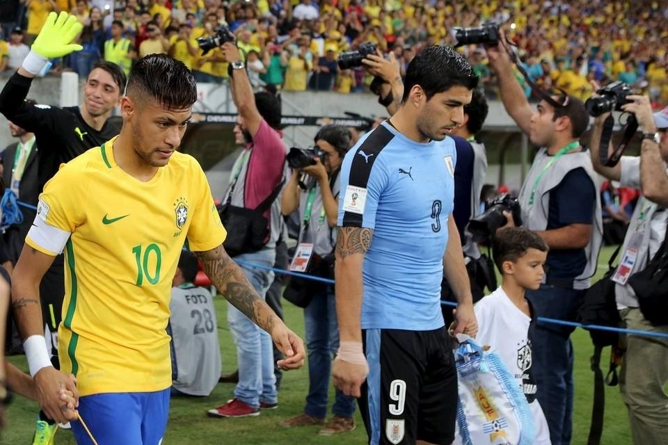 البرازيل وأوروجواى