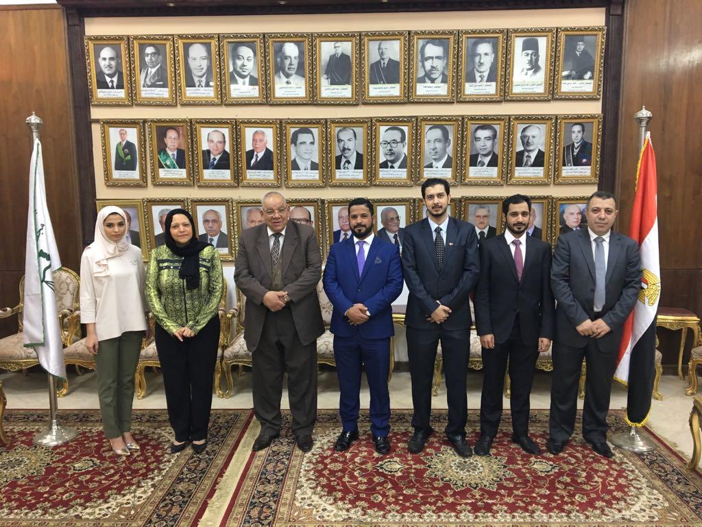 .. أول تفعيل لبرتوكول التعاون بين مجلس الدولة المصري ومملكة البحرين (4)