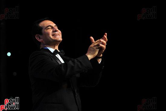 محمد ثروت باحتفالية الذكرى الـ40 لرحيل عبد الحليم حافظ