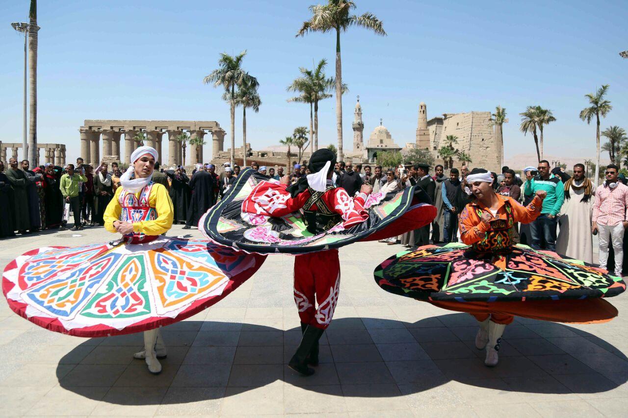 كارنفالات فنية بالأقصر احتفالا بوصول شعلة الثقافة العربية (9)