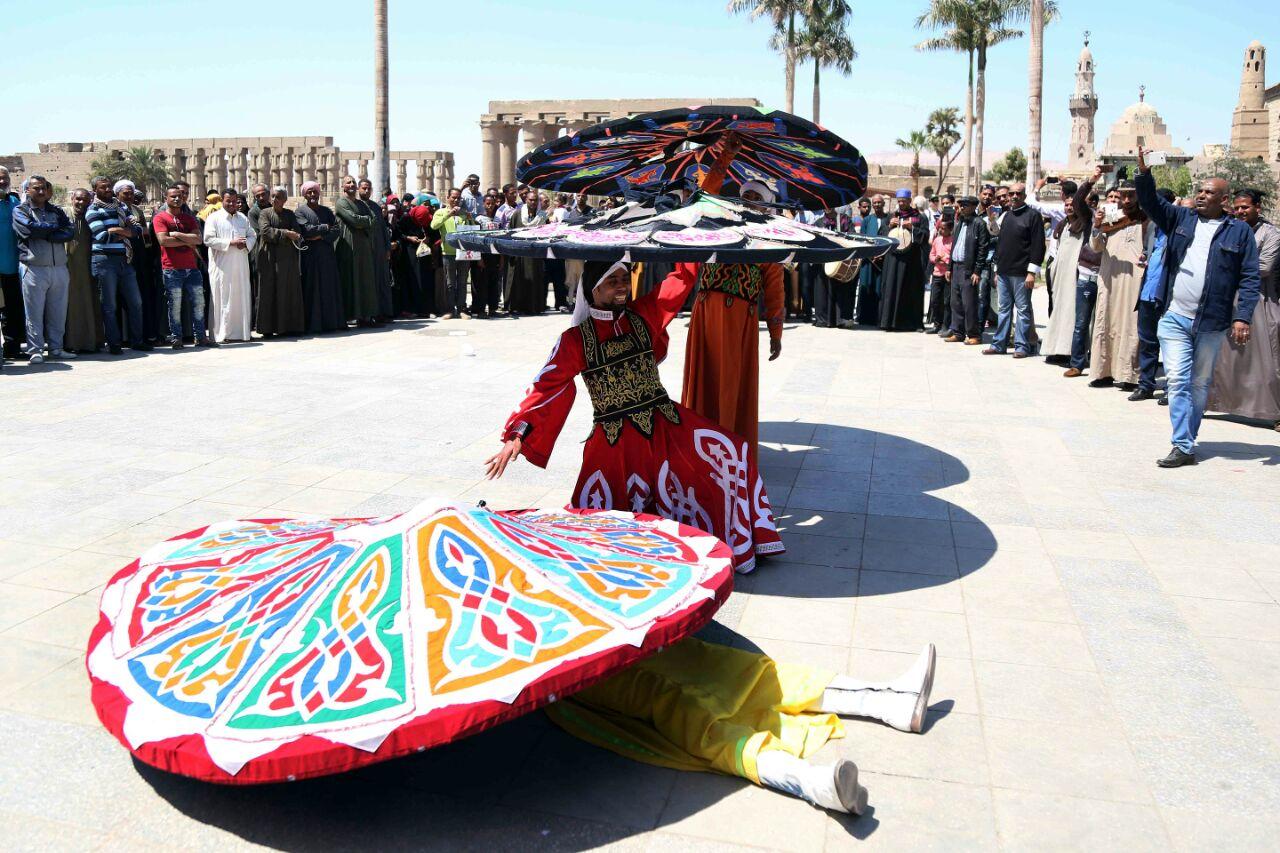 كارنفالات فنية بالأقصر احتفالا بوصول شعلة الثقافة العربية (4)