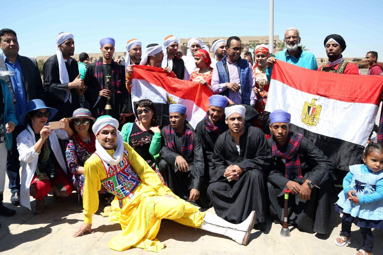 كارنفالات فنية بالأقصر احتفالا بوصول شعلة الثقافة العربية (10)