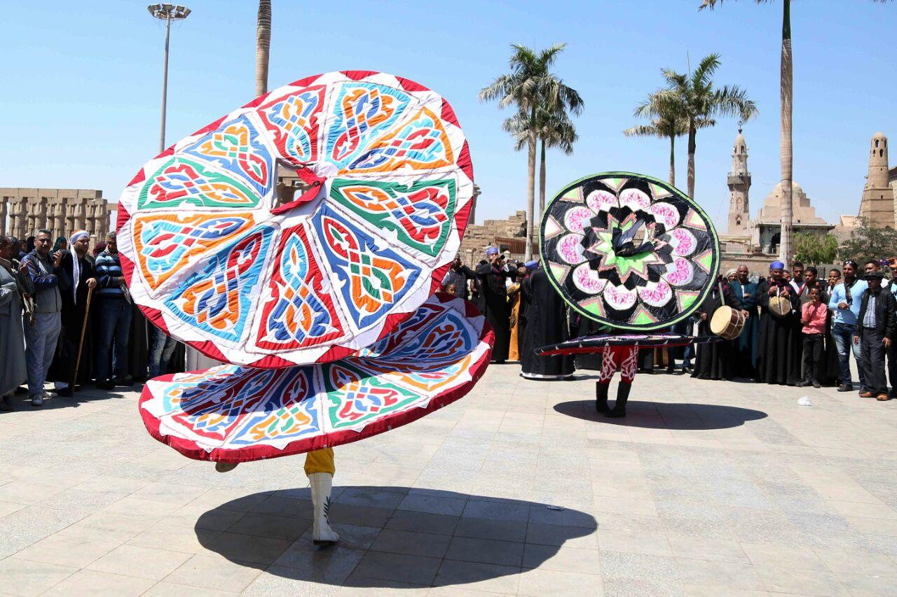 كارنفالات فنية بالأقصر احتفالا بوصول شعلة الثقافة العربية (11)