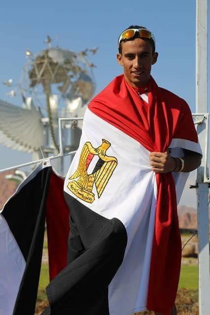 اسلام ناصر بطل المنتخب الوطنى