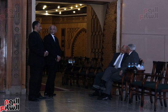 عزاء الراحل السيد ياسين