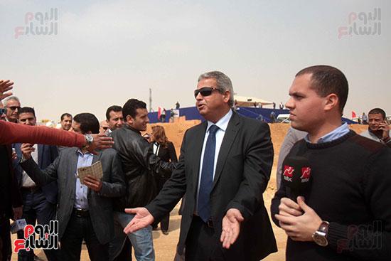 وزير الرياضة فى العاصمة الإدارية