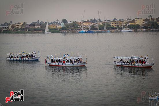 السياحة النيلية بالأقصر