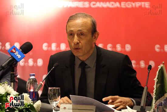مجلس التعاون المصرى الكندى (3)