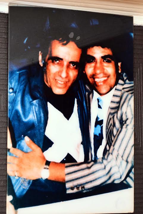 أحمد عدوية مع بليغ حمدى